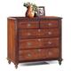 Durham Furniture Savile Row Junior Chest in Victorian Mahogany 980-166-VICM