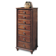 Durham Furniture Savile Row Lingerie Chest in Victorian Mahogany 980-167-VICM