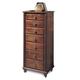 Durham Furniture Savile Row Lingerie Chest in Victorian Mahogany 980-167-VICM