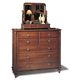 Durham Furniture Savile Row Dressing Chest in Victorian Mahogany 980-169-VICM