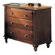 Durham Furniture Savile Row Nightstand in Victorian Mahogany 980-203-VICM