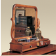 Durham Furniture Savile Row Dressing Mirror in Victorian Mahogany 980-189-VICM