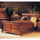 Durham Furniture Savile Row 4-piece Sleigh Bedroom Set in Victorian Mahogany