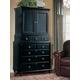 Durham Furniture Savile Row Door Deck & Junior Chest in Antique Black 980-165-ANTB