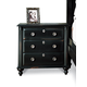 Durham Furniture Savile Row Nightstand in Antique Black 980-203-ANTB