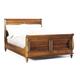 Durham Furniture Savile Row Cal King Sleigh Bed in Park Lane 980-147CK-PARL