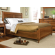 Durham Furniture Savile Row King Sleigh Bed w/ Low Footboard in Park Lane 980-147B-PARL