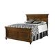 Durham Furniture Savile Row Cal King Panel Bed in Park Lane 980-144CK-PARL