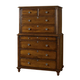 Durham Furniture Savile Row Chest on Chest in Park Lane 980-157-PARL
