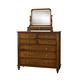 Durham Furniture Savile Row Dressing Mirror in Park Lane 980-189-PARL
