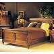 Durham Furniture Savile Row 4-piece Sleigh Bedroom Set in Park Lane