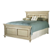 Durham Furniture Savile Row King Panel Bed in Antique Cream 980-144-ANTC