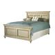 Durham Furniture Savile Row Cal King Panel Bed in Antique Cream 980-144CK-ANTC
