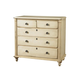 Durham Furniture Savile Row Junior Chest in Antique Cream 980-166-ANTC