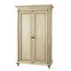 Durham Furniture Savile Row Armoire in Antique Cream 980-160-ANTC