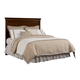 Stone & Leigh Teaberry Lane Queen Panel Headboard in Midnight Cherry 560-13-145