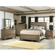 Legacy Classic Brownstone Village Panel Bedroom Set