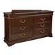 Standard Furniture Westchester Drawer Dresser in Rich Cherry 82659