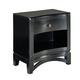Standard Furniture Memphis Nightstand in Black Paint 83057