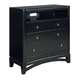 Standard Furniture Memphis TV Chest in Black Paint 83096