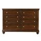 Standard Furniture Essex Drawer Dresser in Dark Merlot 88109