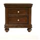 Standard Furniture Essex Drawer Nightstand in Dark Merlot 88107