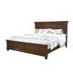 Standard Furniture Essex Queen Panel Bed in Dark Merlot 88101