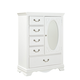 Standard Furniture Jessica Wardrobe Chest in White Paint 94238