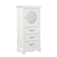Standard Furniture Jessica Lingerie Chest in White Paint 94215