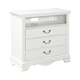 Standard Furniture Jessica Entertainment Console in White Paint  94246
