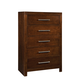 Standard Furniture Metro Drawer Chest in Dark Merlot 87955