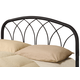 Coaster Full/Queen Metal Headboard Only in Black 300184QF
