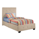 Standard Furniture Madison Square Taupe Upholstered Youth Twin Bed 55677