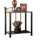Coaster Whittier Casual Iron Nightstand with Shelf 300022