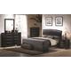 Coaster Briana Upholstered Bedroom Set 300245QSET