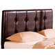 Coaster Lewis Queen Upholstered Headboard in Deep Brown 300357Q