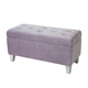 Standard Furniture Young Parisian Storage Bench in Lavender Shimmer 65181