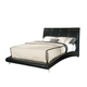 Standard Furniture Moderno Upholstered Queen Platform Bed in Black 99501