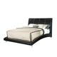Standard Furniture Moderno Upholstered King Platform Bed in Black 99511