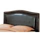 Coaster Lewis Queen Upholstered Headboard in Deep Brown 300377Q
