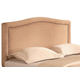 Coaster Lewis Queen Upholstered Headboard in Soft Tan 300367Q