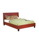 Standard Furniture New York Full Platform Bed in Red 93998