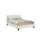 Standard Furniture New York King Platform Bed in Ivory 93965