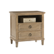 Lexington Monterey Sands 2-Drawer Berkeley Nightstand in Sandy Brown 830-623