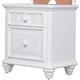 Samuel Lawrence Furniture SummerTime Nightstand in Bright White 8466-450