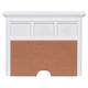 Samuel Lawrence Furniture SummerTime Nighstand Back Panel in Bright White 8466-451