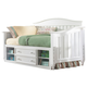Samuel Lawrence Furniture SummerTime Day Bed with Underbed Storage in Bright White