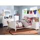 Samuel Lawrence Furniture SummerTime 4-Piece Poster Bedroom Set in Bright White