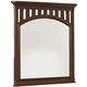 Samuel Lawrence Furniture Expedition Landscape Mirror in Cherry 8468-430