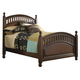 Samuel Lawrence Furniture Expedition Twin Poster Bed in Cherry